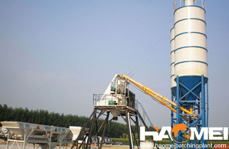 hzs25 small concrete batch plant for sale